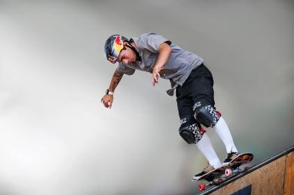 Skate Maresia Vert Jam - Pedro Barros. ©Leandra Benjamin