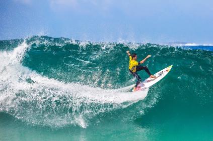 Oi RIo Pro WSL Mundial de Surf 2015 - Adriano de Souza. ©Leandra Benjamin