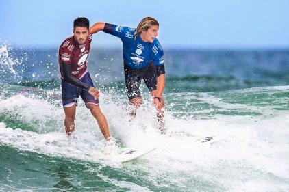 Filipe Toledo e Ricardo Christie, Oi RIo Pro WSL Mundial de Surf 2015.