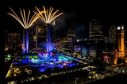 Canada, Toronto, Cerimônia de Encerramento dos Jogos Parapan-Americanos. ©Leandra Benjamin/MPIX/CPB