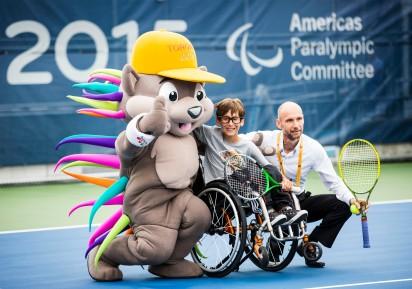 Toronto, Tênis de Cadeira de Rodas. ©Leandra Benjamin /MPIX/CPB