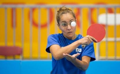 Canadá, Toronto, Atos Makham Centre,Tênis de Mesa, na foto Joyce Oliveira. ©Leandra Benjamin /MPIX/CPB