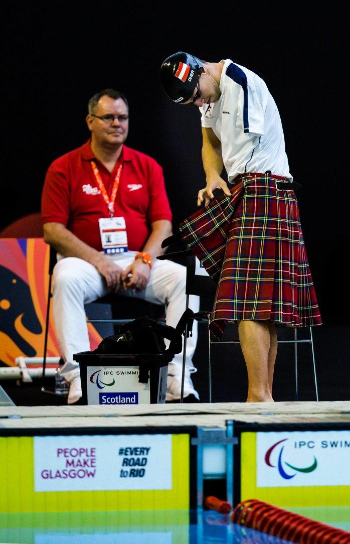 Mundial de Natação Glasgow. ©Leandra Benjamin/CPB/MPIX